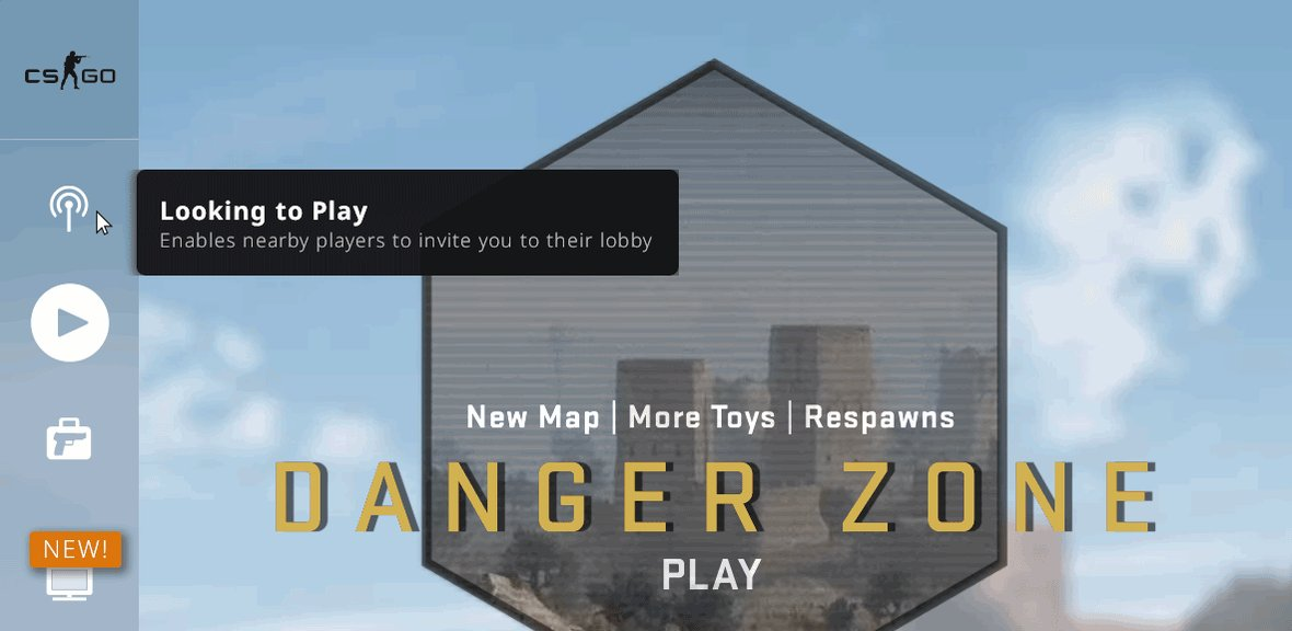Release Notes for today are up! Loss bonus now caps at 5 rounds, new Danger Zone items have been unlocked, a looking to play feature has been added, and a CS:GO events feature with @HLTVorg schedule info has been added to the WATCH tab. Full notes: blog.counter-strike.net/index.php/2019…