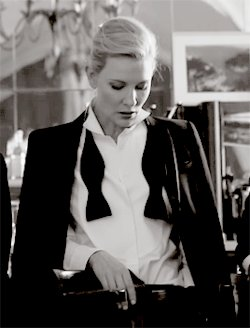 Happy 50th Birthday to Cate Blanchett, the woman suits were invented for