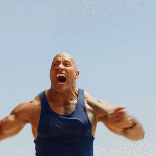 Only The Rock could defeat the King Slayer.