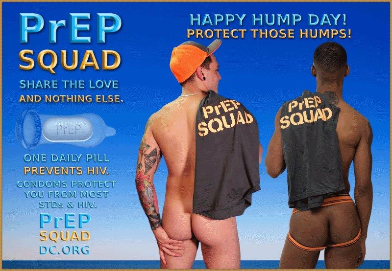 PrEP SQUAD (18 +)'s photo on Hump Day