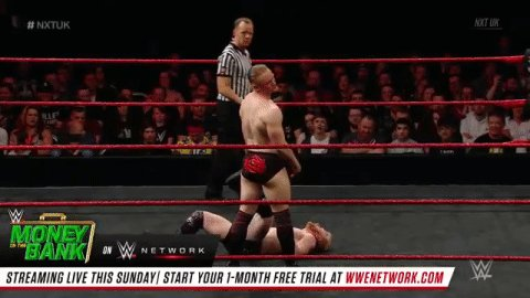 .@UNBESIEGBAR_ZAR is having A LOT of fun out there! #NXTUK