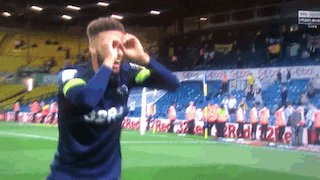 My new favourite GIF @_omeara_r @dcfcofficial @LUFC #leedsderby #LUFCvDCFC #spygate #DerbyCounty