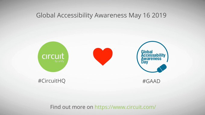 In Circuit, #accessibility starts with the design process, says @mischa_van_o, Head of User Expe...
