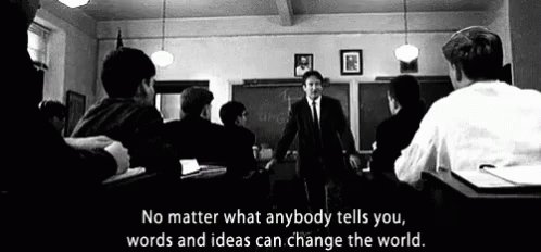 #DiaDelMaestro Best teachers movies for today: Dead Poets Society