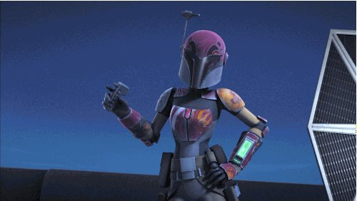 Happy birthday to one of our favorite Mandalorians and the voice of Sabine Wren on #StarWarsRebels, @tiyasircar!