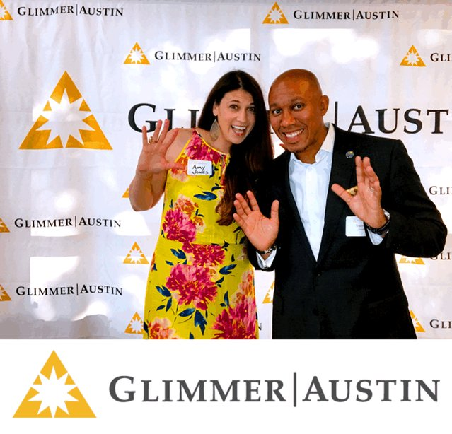 Thanks to @glimmeraustin for their amazing support!  Our ability to serve is directly tied to your generosity. #BetterAthletesBetterPeople
