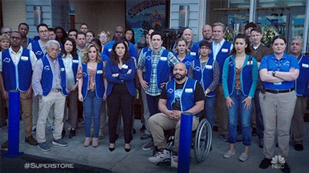 That was intense. Thank you to all of our fans for making the #Superstore family so special and for supporting us from the very beginning.We'll see you this fall for Season 5.