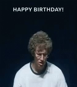 Birthday shout-out: Happy Birthday and