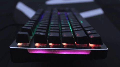 🌟 El teclado AIM te dejará 😍🤩🤯 con sus prestaciones 🛒 A la venta por 39,90€ en https://amzn.to/2JtIXFO y http://aimgaming.eu/