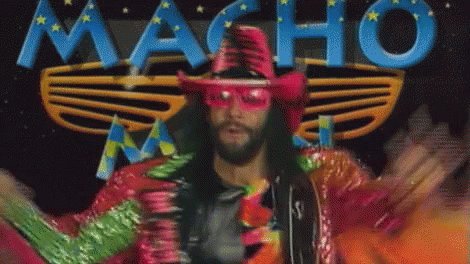 """Macho Man"" Randy Savage appreciation tweet. Nobody like him. Will never be another like them."
