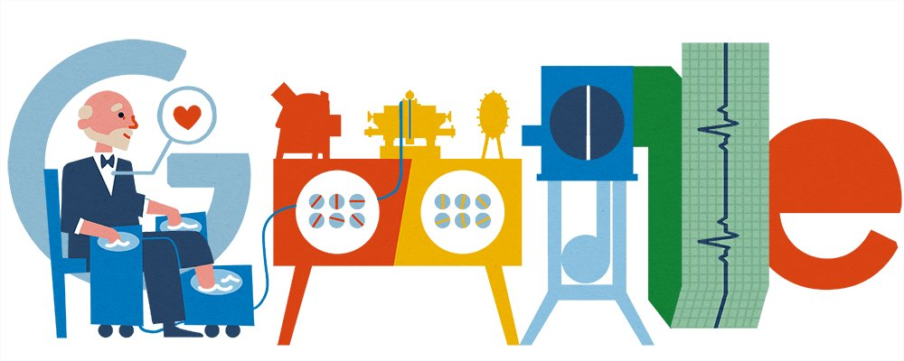 Image for the Tweet beginning: Today's #GoogleDoodle celebrates the 159th