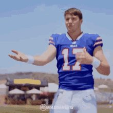 Rightful heir to the throne...True king of the North...Leaper of Linebackers...Cowboy of Wyoming...Sir Josh Allen.