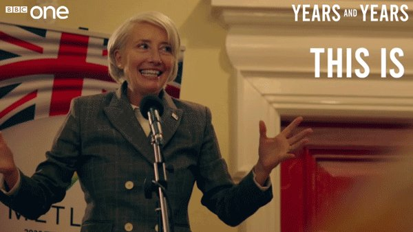 I'm scared and excited all at once. Scarecited, if you will. #YearsAndYears