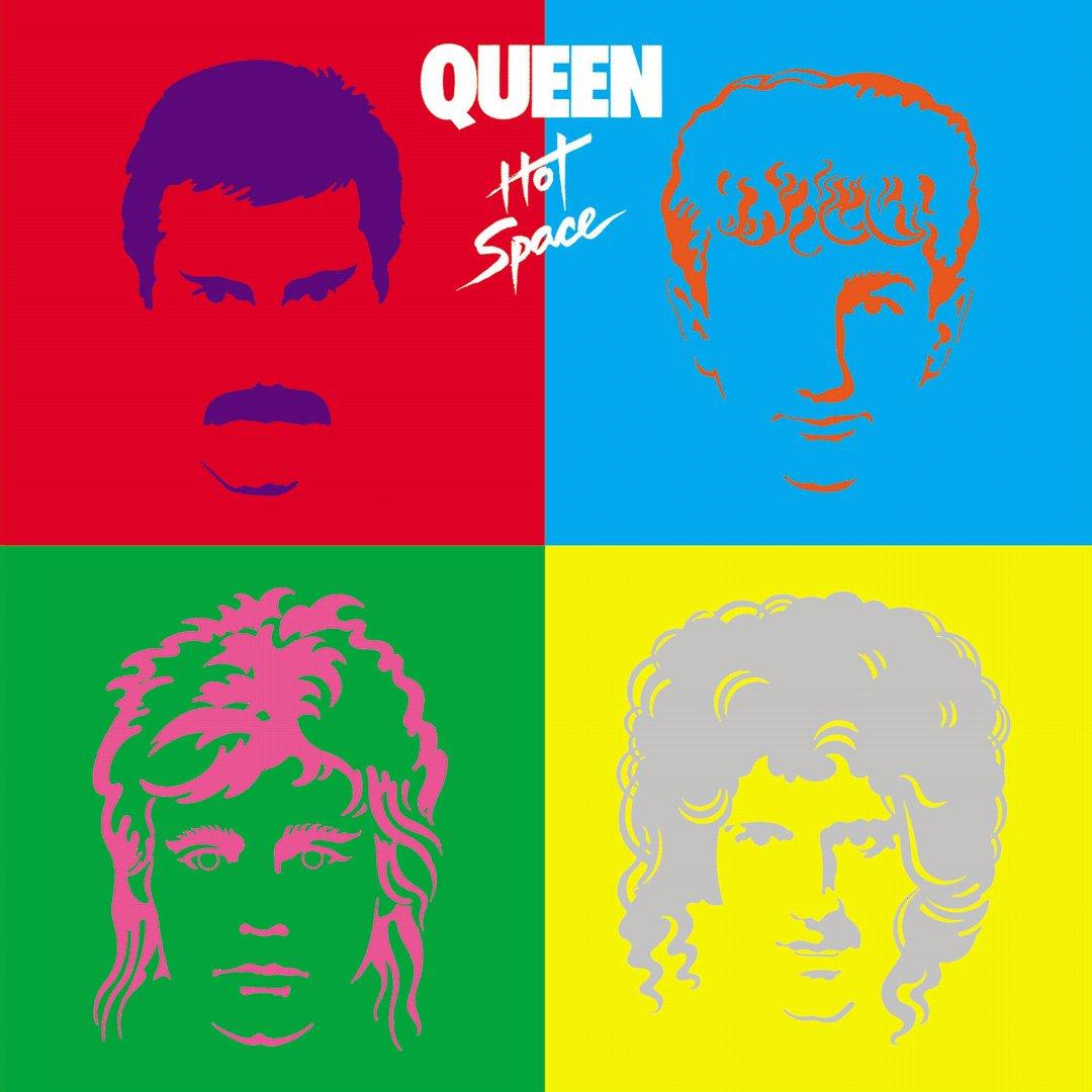 Image for the Tweet beginning: OTD 1982 Queen released 'Hot