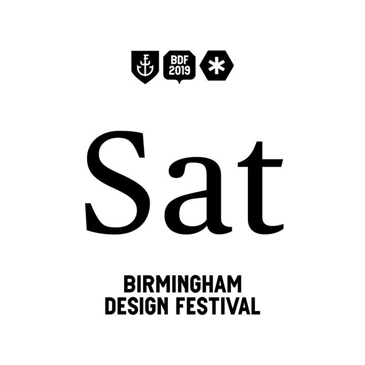 Were finishing #BDF2019 in style on Sat 8th June at @BirmCons – with four amazing speakers (@jenniferdaniel @klick_ass @letter_presser & Laura Pol) who all work on brands we know and love. Get your tickets now! (inc. free print & after-party access) → birminghamdesignfestival.org.uk/whats-on/event…