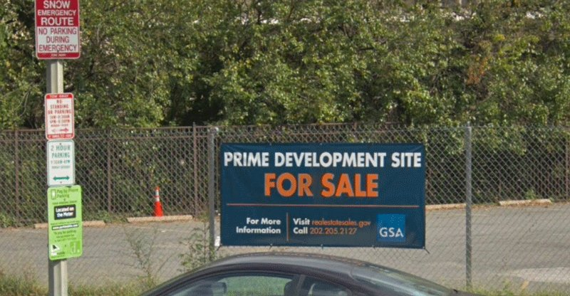 GSA has officially closed on the sale of a parcel near 12th St and Independence Ave SW in Washington DC near the Department of Energy headquarters and the National Mall on May 10, 2019. GSA accepted the high bid of $4.115M on December 19, 2018. Learn more: https://t.co/4TKTFRWfWv