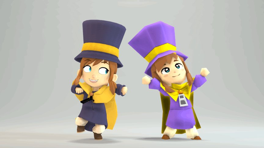 Friends are for movin' and groovin'. #sourcefilmmaker #SFM #AHatInTime