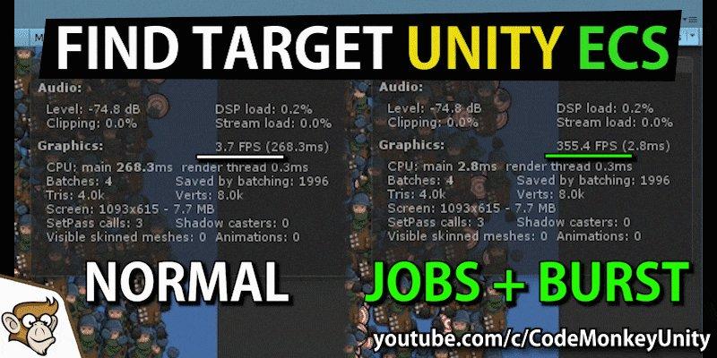 unity job system tutorial