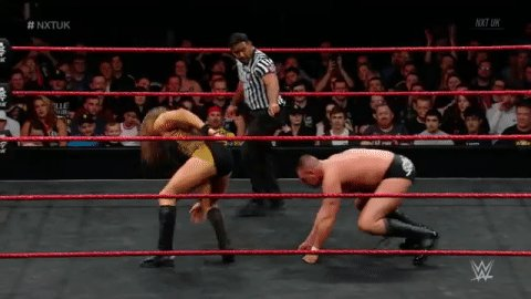 BRUTE STRENGTH on display by @WalterAUT! #NXTUK