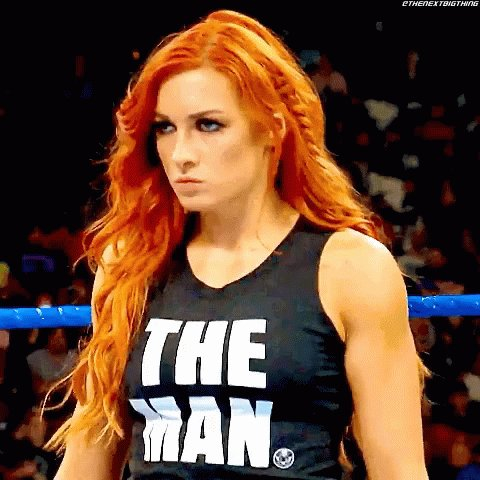 you are the only true #TheMan Becky 🔥🔥🔥🤘🏻