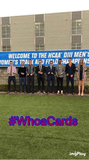 #WhoaCards looking pretty sharp at the #d3tf #NCAA Championship Banquet! Tomorrow is Day 1 for the Cardinals with the prelims of the men's 4x100m at 3:15pm EST. @SMUSID #CardinalPride #ProtectTheNest