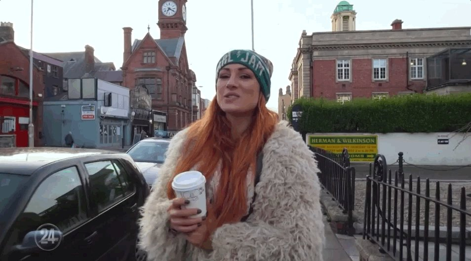 Join #TheMan @BeckyLynchWWE on the streets of Dublin on #WWE24 streaming RIGHT NOW only on @WWENetwork! http://wwe.me/57D0E7