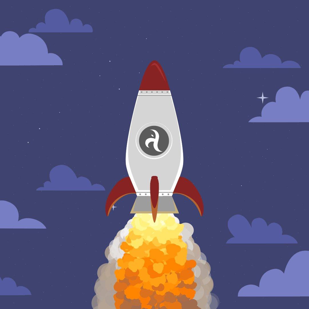 Картинка анимация ракета в космосе, картинках днем рождения