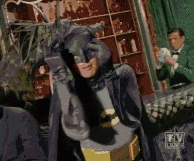 Introduced GF to Adam West's #batman this morning