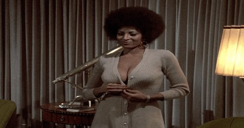 A very happy birthday to Pam Grier. Whatever she s up to, we re not worthy.