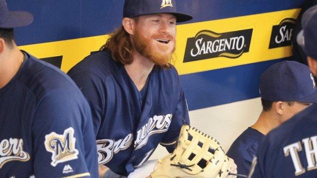 Milwaukee Brewers's photo on ben gamel