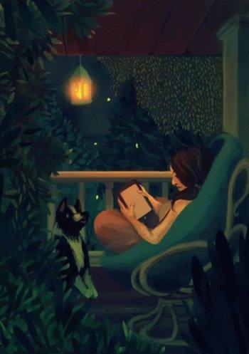 #InTheLongSummerNights I stay up reading. 💕