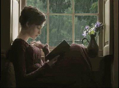 #InTheLongSummerNights I like to use the rainy weather to read & write.