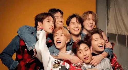 yall hating on 7 talented and hard working men. they deserve all love and appreciation in the world. im proud of these seven idiots 💗I will forever love them #WeLoveYouGOT7