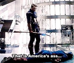 Happy birthday to America's ass. The world's a better place, and I owe you a kiss on the cheek! @ChrisEvans