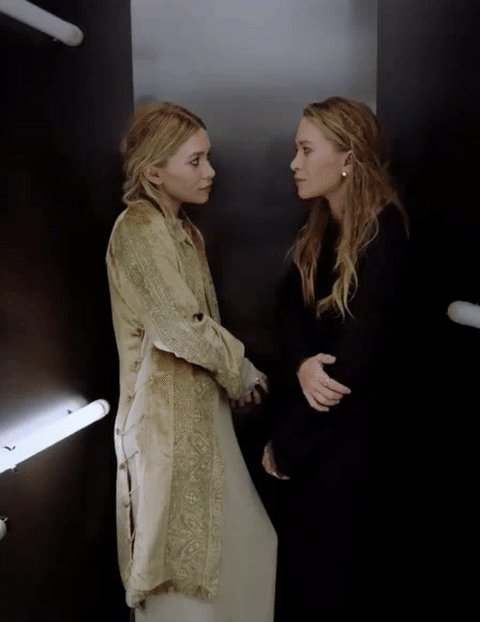 Happy Birthday, Mary-Kate and Ashley Olsen. Never say never - in fashion and life.