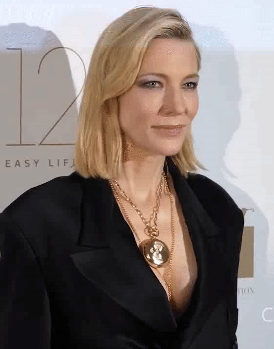 Cate Blanchett at HFPA Event in #Cannes2018
