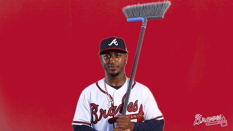 ✅ 4-game sweep ✅ 7th win in a row  #ChopOn | #VoteBraves