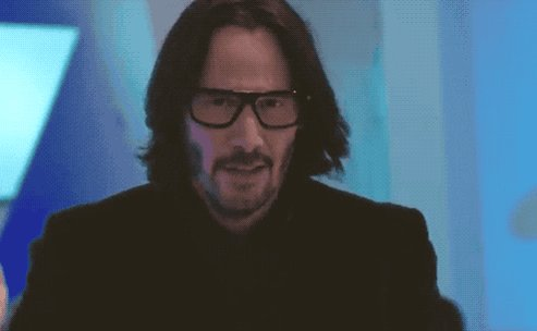 Keanu Reeves as Keanu Reeves in #AlwaysBeMyMaybe is one of the funniest cameos I've seen in a long time.