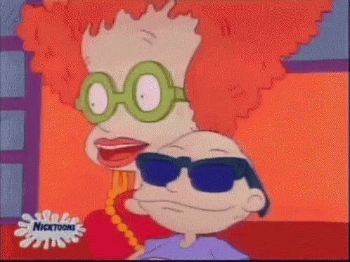 Tommy sounds like he's been smoking for 40 years. #rugrats