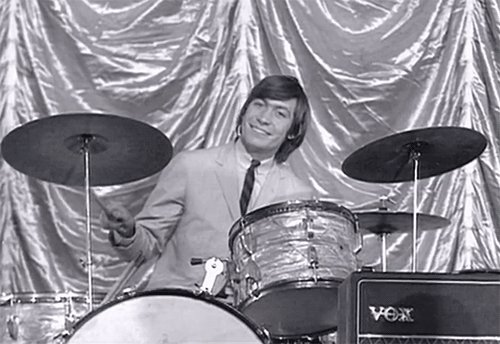 Meanwhile back in the real world Happy birthday Charlie Watts