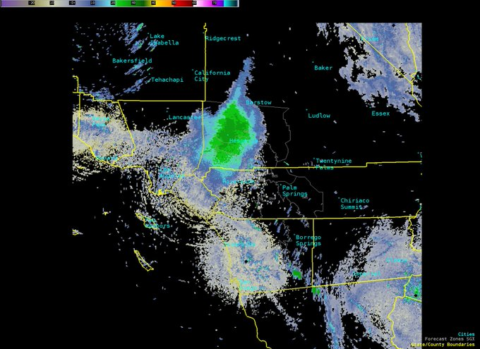 Swarm of ladybugs so large it registers on National Weather Service radar in California D8RLWbSUwAAWiwg?format=jpg&name=small