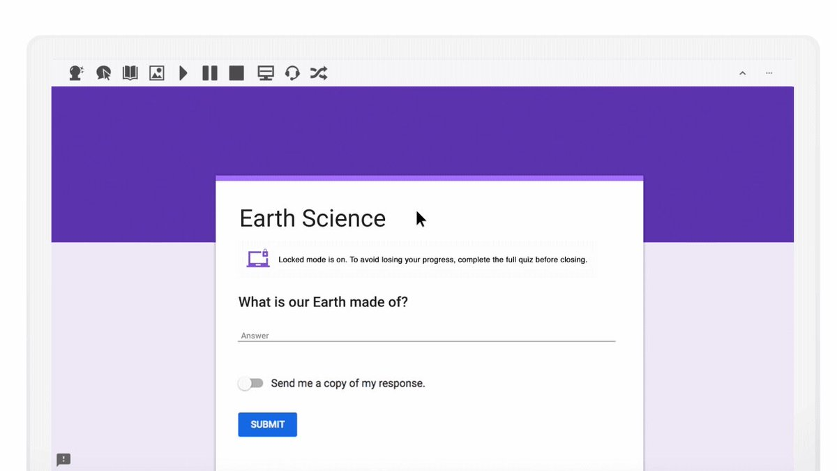 📢Attention all @Texthelp users: #ReadandWrite and #EquatIO are now available in #GoogleForms Quizzes when in locked mode. Give us a LIKE if you're going to start using these accessibility features in your planning. http://goo.gle/2HXmzmg #a11y