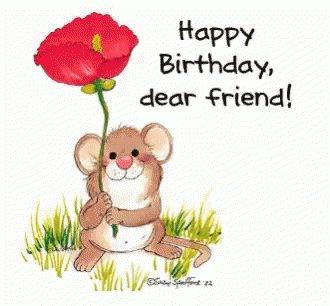 Happy almost birthday, !