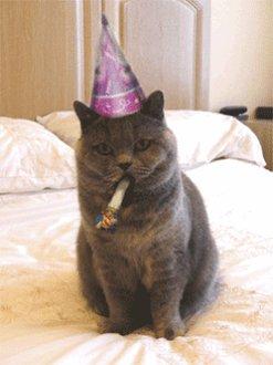 Happy Birthday enjoy the gifts.