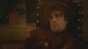 @Nerdrotics This would be the one thing that could potentially make me watch the show again. Love Tyrion.