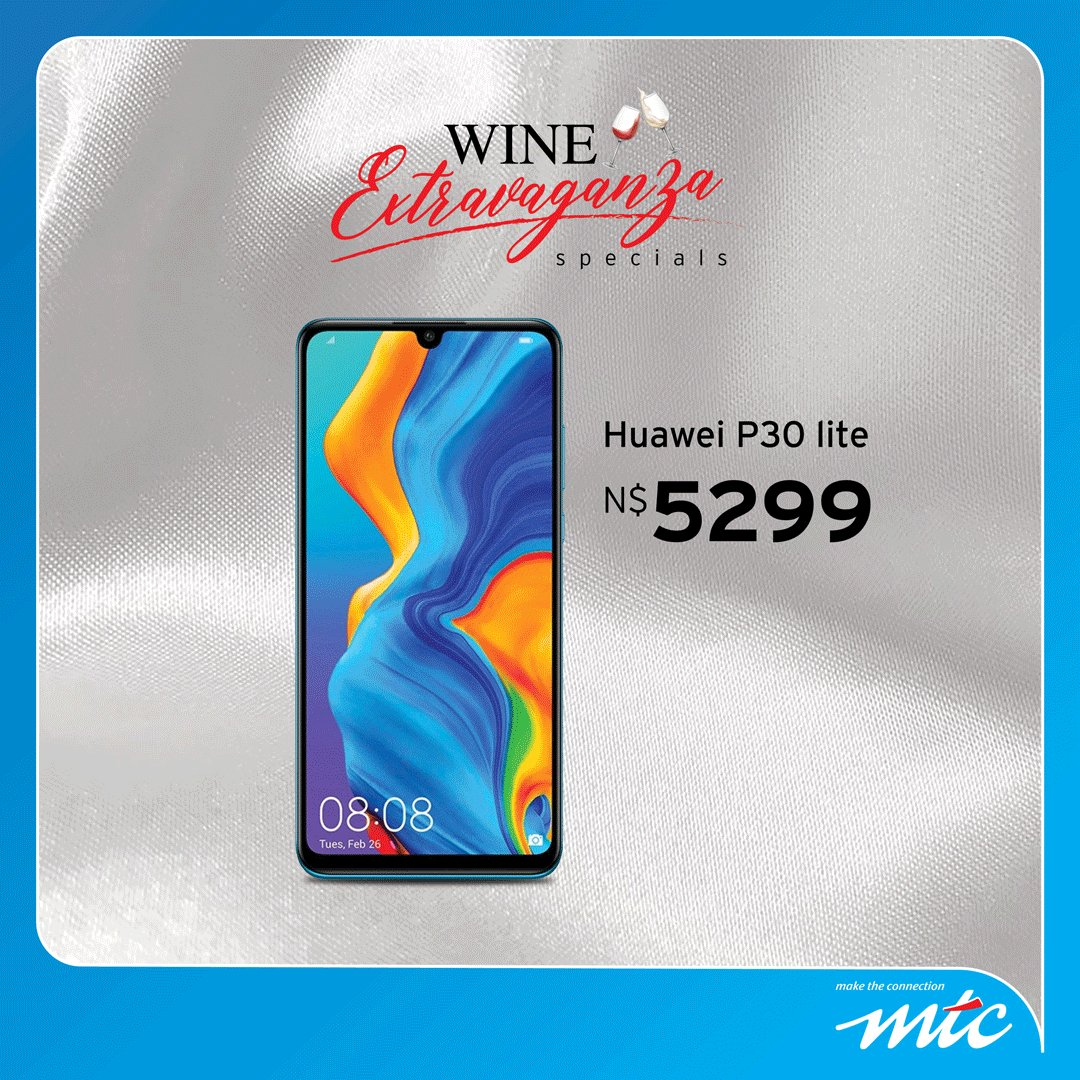 Join us for the Wine Extravaganza at Windhoek Country club from the 27th– 29th June, and treat yourself to a range of phones on special, tailor made for you. #MTCAWE19