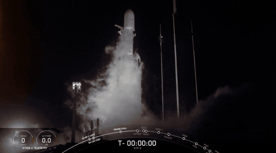 Liftoff for Falcon Heavy! http://tcrn.ch/2x9LOeL