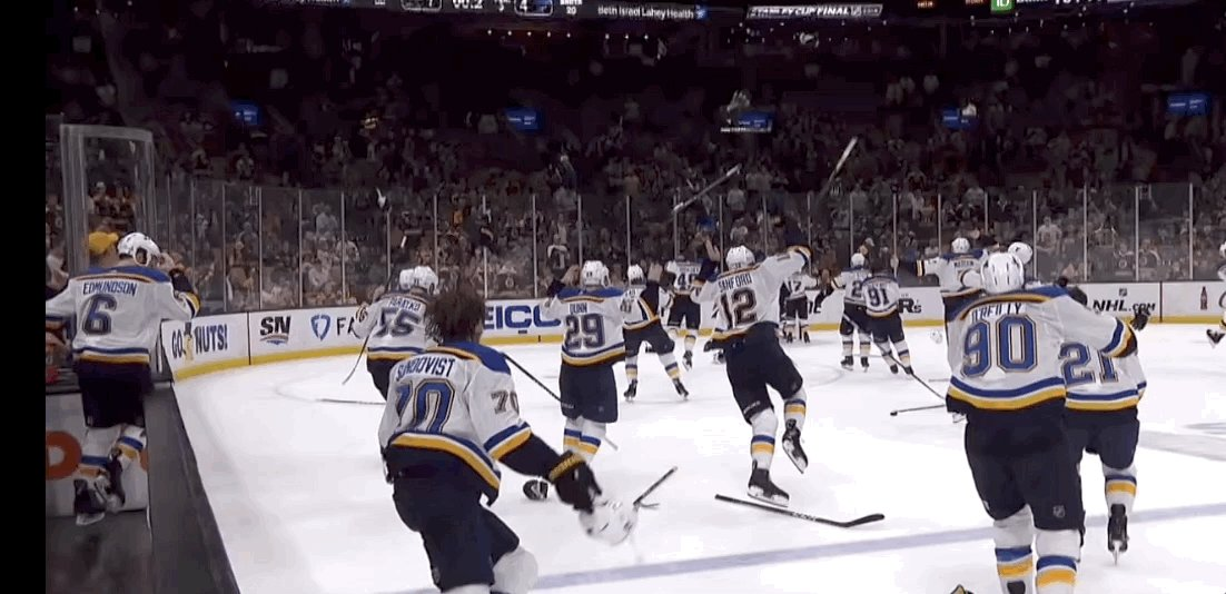One month ago today, the St. Louis Blues became Stanley Cup Champions. #STLBlues