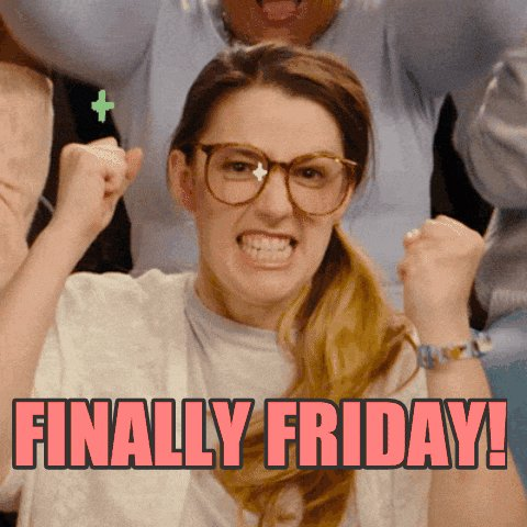 Its finally Friday🎉 Who else is as excited for the weekend as us? Got to love getting two days off 😀  #FriYAY #FridayFeeling #weekendvibes