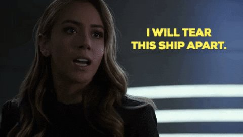 Nobody can mess with our Fitz 👊 #AgentsofSHIELD @chloebennet